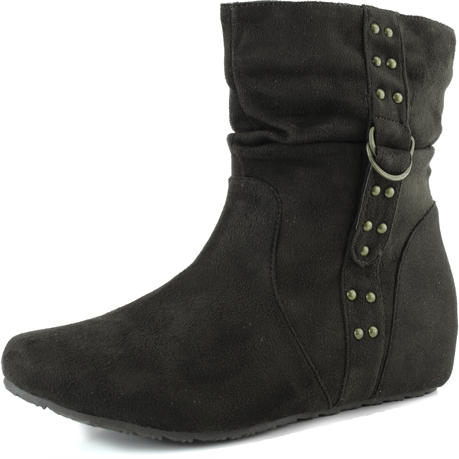 Top Moda Women's Top Moda Anne-2 Flat Suede Ankle Boots at Sears.com