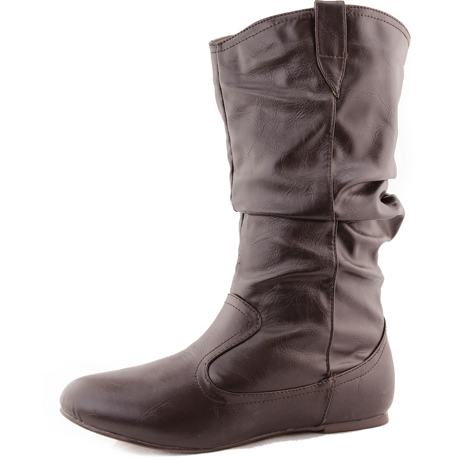 Top Moda Women's Top Moda Life-7 Mid Knee Casual Boots at Sears.com