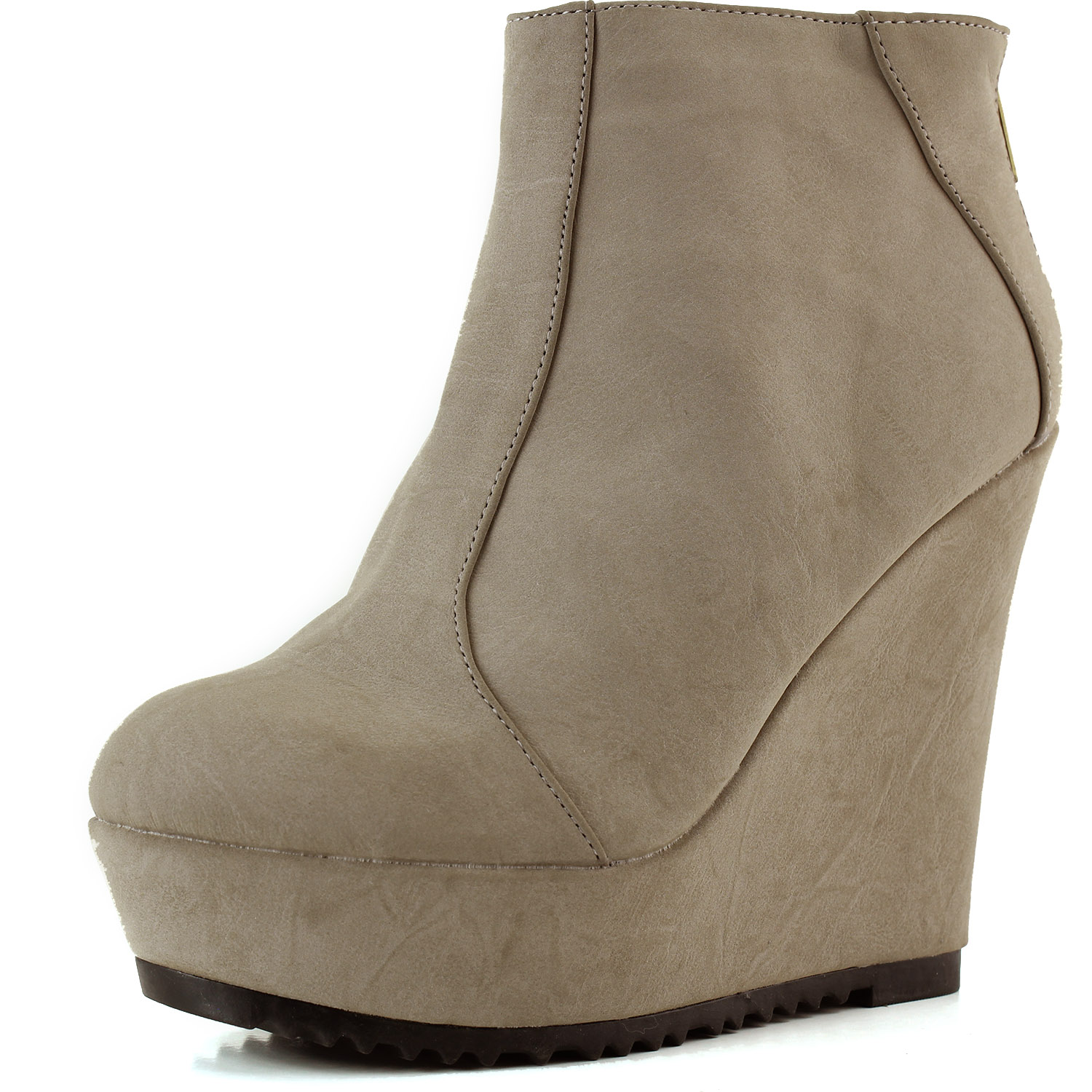 Qupid Women's Qupid Timber-17 Burnish ankle booties at Sears.com