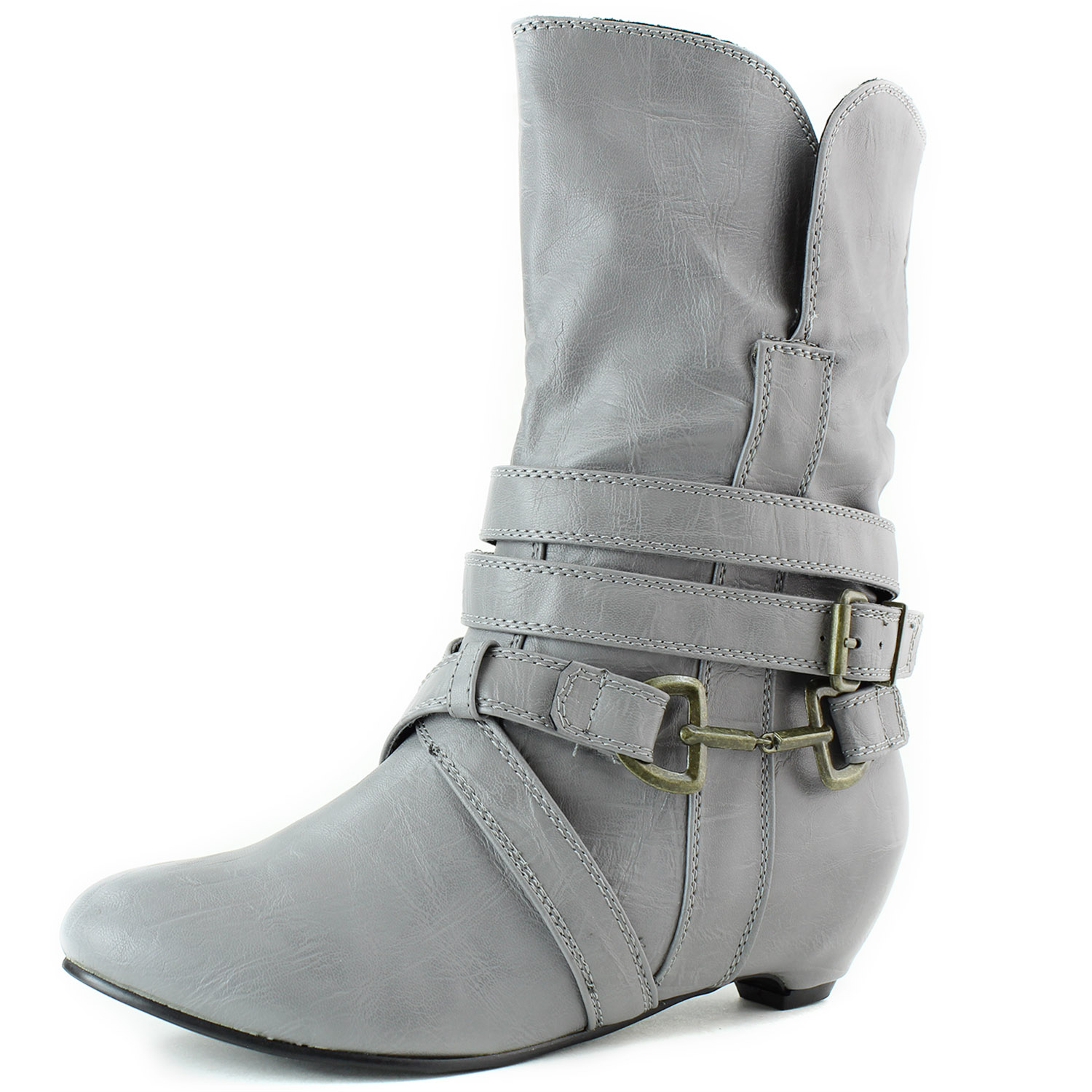 Wild Diva Vernita-02 Decorated Buckles Ankle at Sears.com